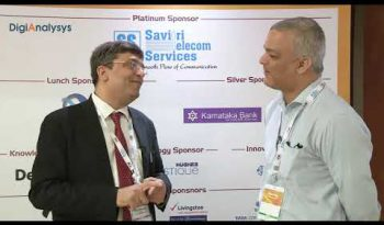 Dr Rishi's video interview with digianalysis @CII Telecom Convergence Summit where he spoke about the future of IoT & 5G in India