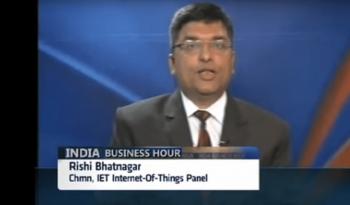Dr. Rishi Bhatnagar, Tech Mahindra , speaks on Digitalizing India