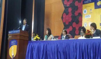 Dr. Rishi's speech at International Conference on Information Technology, Amity University Uttar Pradesh, Noida