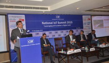 Dr. Rishi's speech at CII 'National IoT Summit 2015'