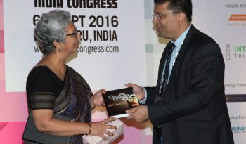 """""""Dr. Rishi with Smt. Rita Teaotia, Secretary, Ministry of Commerce & Industry"""""""
