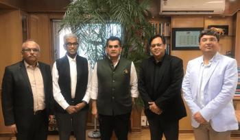 Dr. Rishi meeting with Mr. Amitabh Kant, CEO- NitiAyog