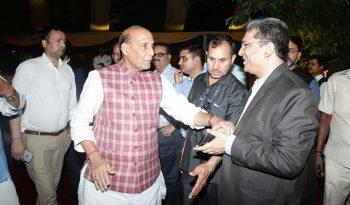 Dr. Rishi meeting, Sh Rajnath Singh, Home Minister of India