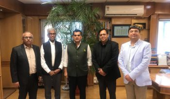 IET India representatives with Amitabh Kant, CEO of NITI Aayog